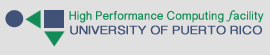 Website for the High Performance Computing Facility of the University of Puerto Rico